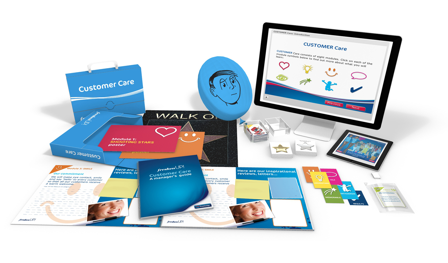 Travelodge Customer Care Box and Elearning