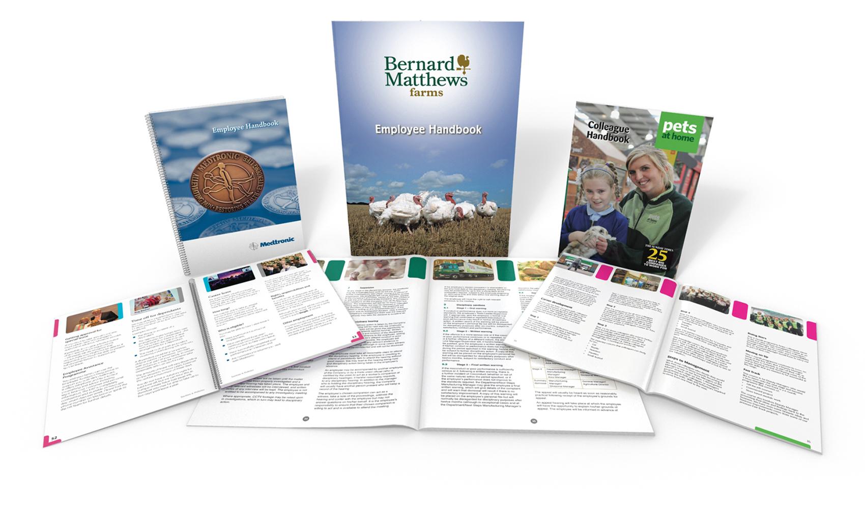 Bernard Matthews Employee Handbooks