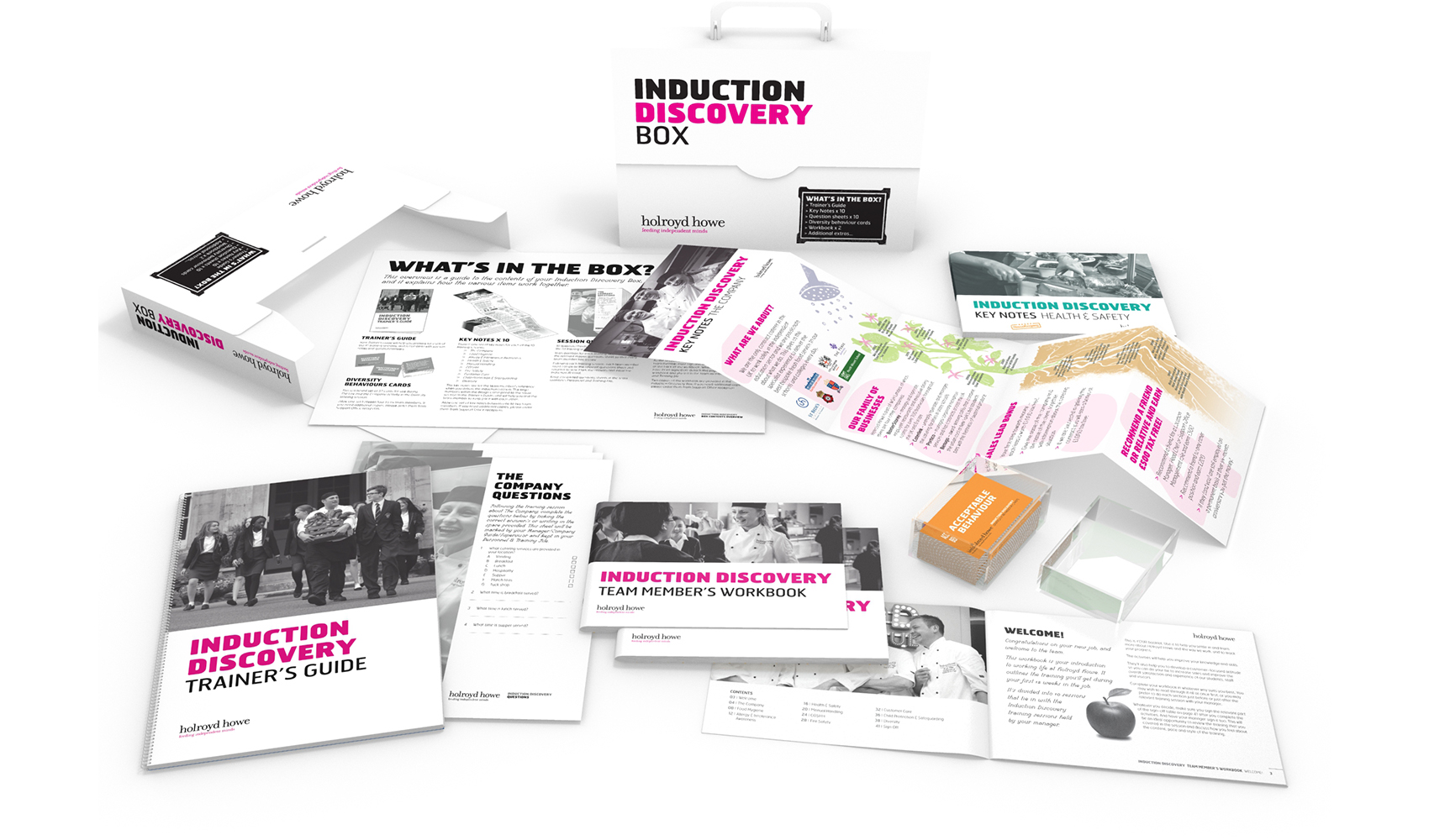 Holroyd Howe Induction Discovery Box
