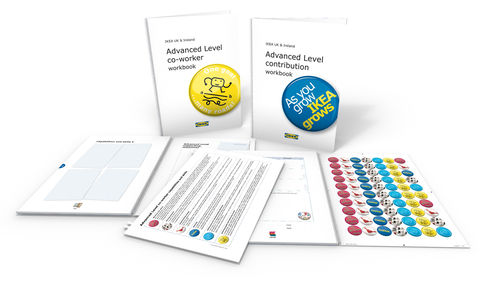 IKEA Advanced Level Contribution and Co-worker Workbooks