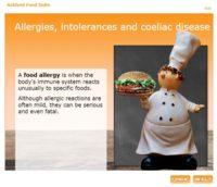 Allergies, intolerances and coeliac disease