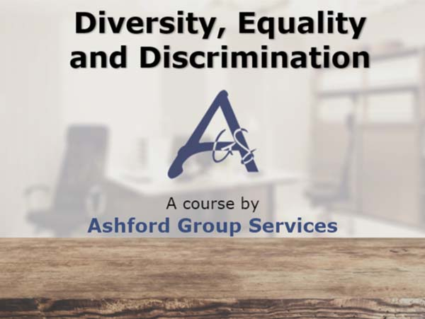 Diversity, Equality and Discrimination