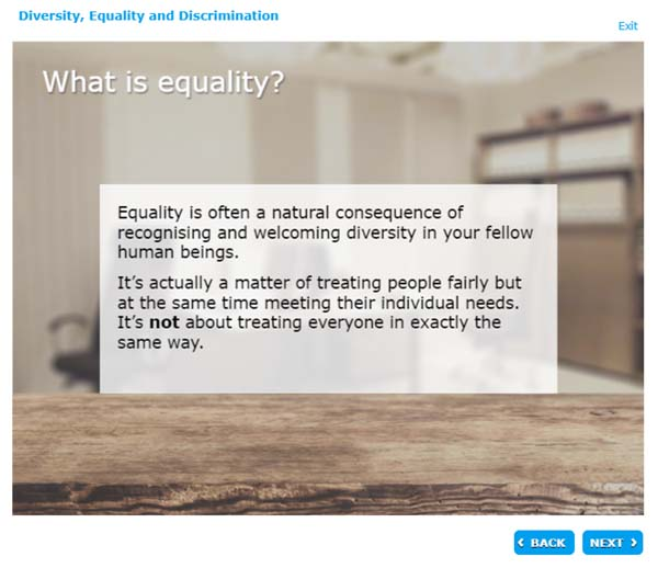 What is equality?