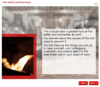 Fire Safety and Awareness - Summary