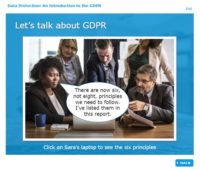 Let's talk about GDPR