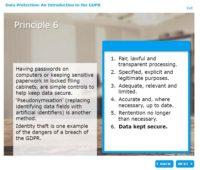 GDPR Principle 6