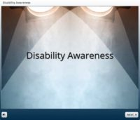 Disability Awareness in the Theatre