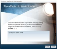 The effects of discrimination