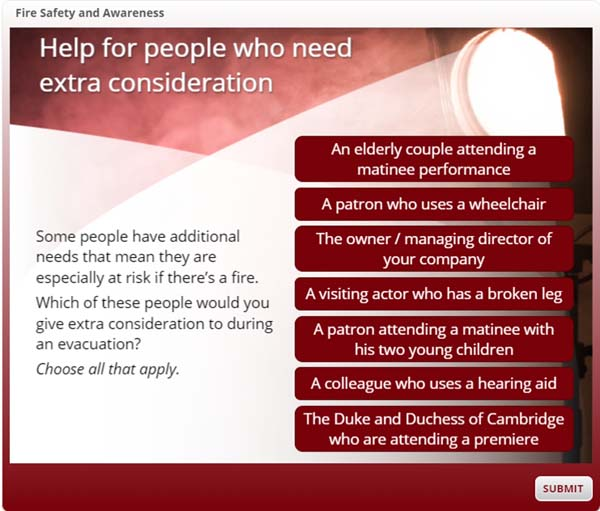 Help for people who need extra consideration