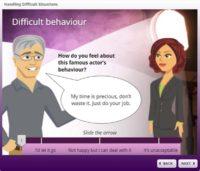 Difficult behaviour