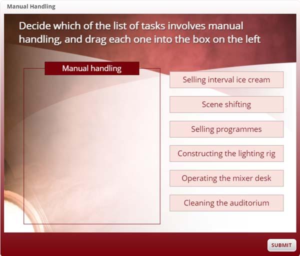 Manual Handling Tasks